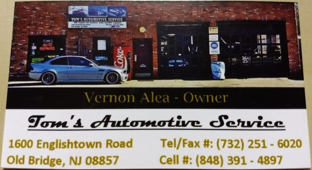 Tom's Automotive Service Old Bridge NJ