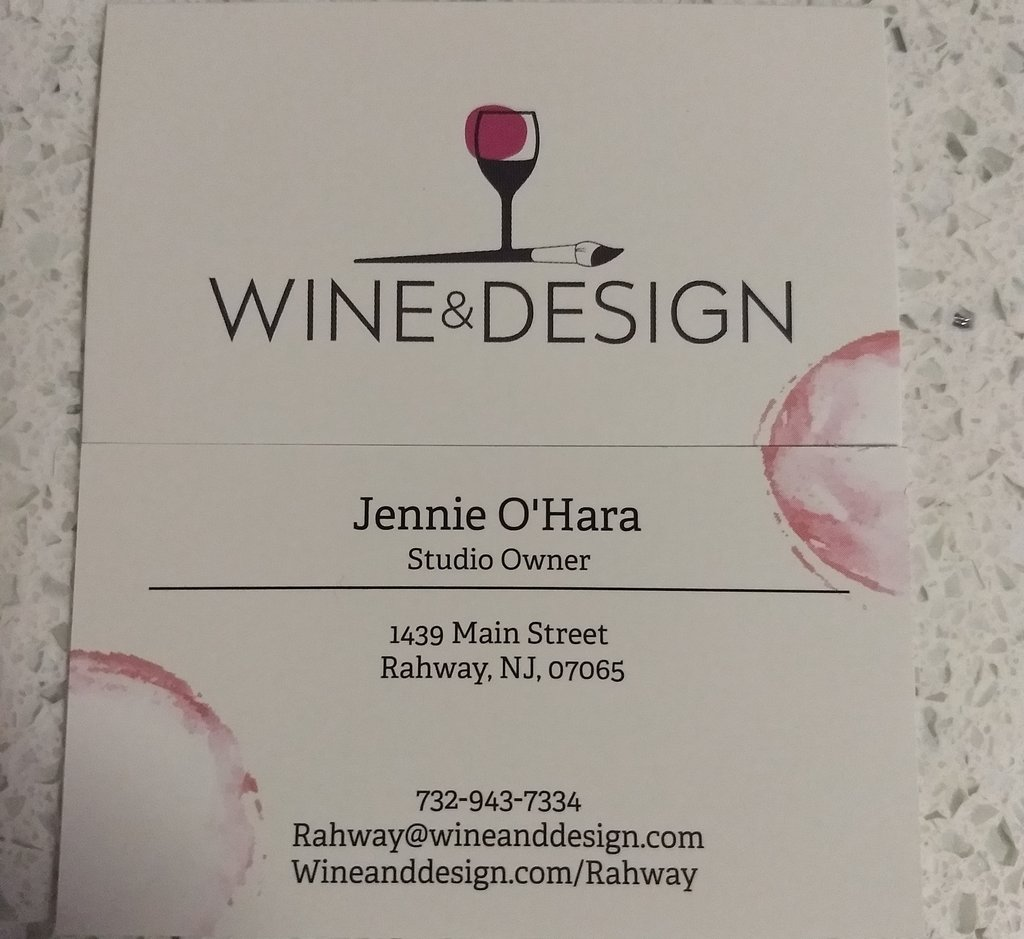Wine and Design Rahway NJ