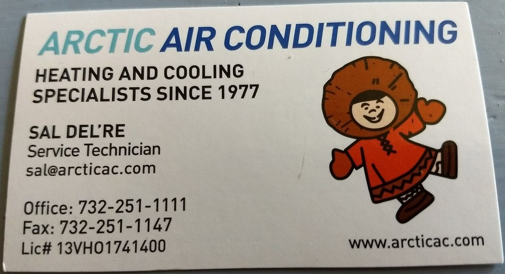 Sal Del're Arctic Air Conditioning