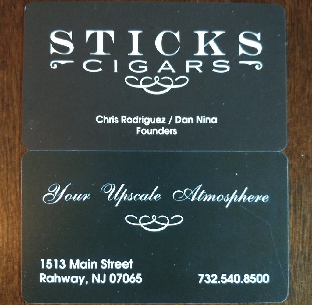 Sticks Cigars Rahway NJ