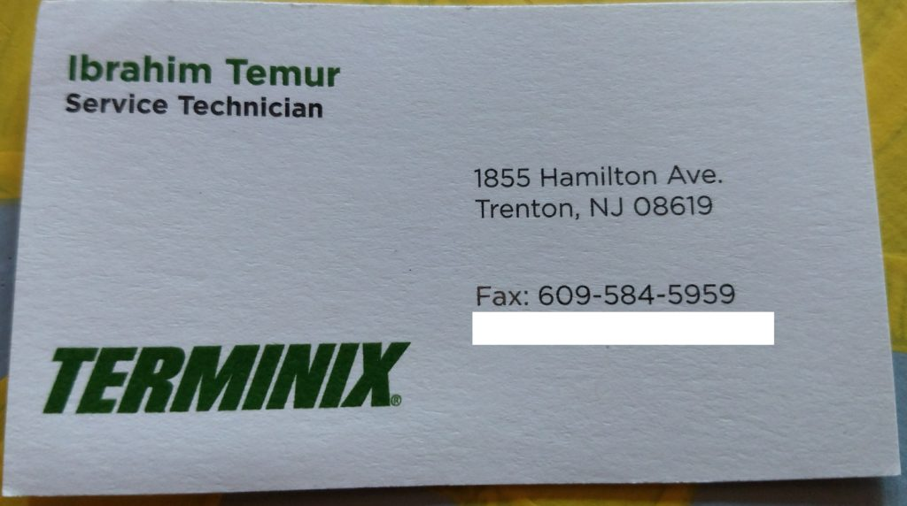 Getting a quarterly spot spraying checkup from terminix terminix trenton nj reheart Image collections