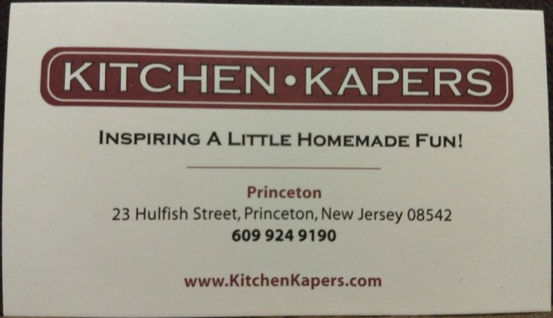 Kitchen Kapers Princeton NJ