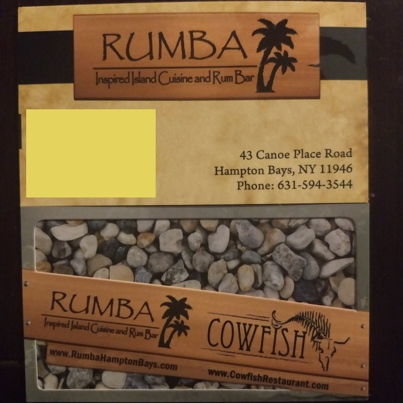 Rhum long island cuisine with a business card identity crisis reheart Image collections