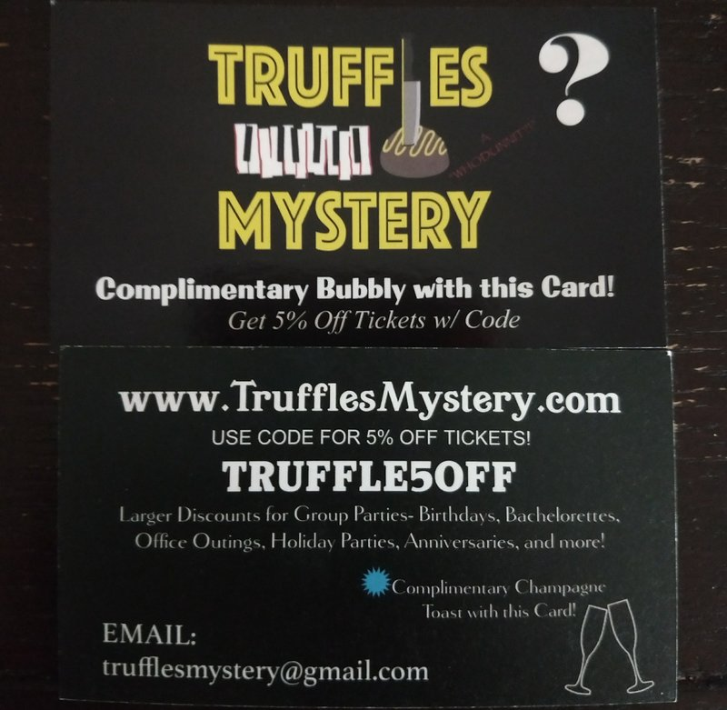 Did I Enjoy Truffles Mystery At Swing 46 In Nyc That S A